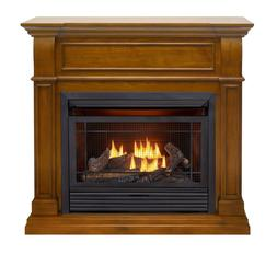 Duluth Forge Dual Fuel Ventless Gas Fireplace -26,000BTU, Ap