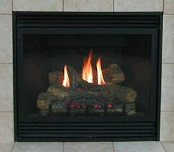"""Empire Tahoe Deluxe Direct Vent Natural Gas Fireplace - 32"""""""