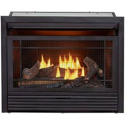 Duluth Forge Reconditioned Dual Fuel Ventless Gas Fireplace